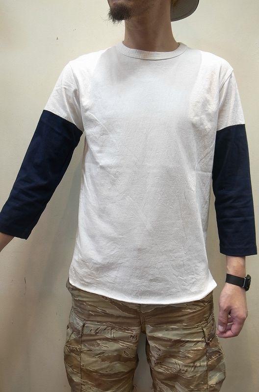 画像1: 【JACKMAN/ジャックマン】 JM5640 Baseball T-Shirt (1)