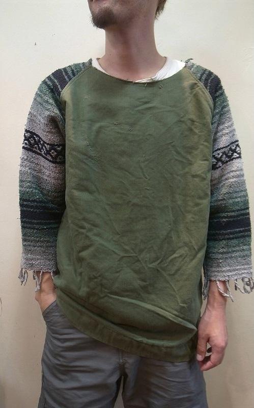 画像1: 【OLD PARK/オールドパーク】 RUG LAUNDRY SHIRT ラグ ランドリーシャツ (1)