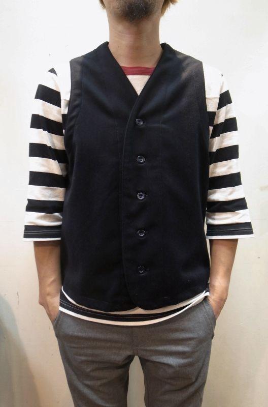 画像1: 50%OFF【Yarmo/ヤーモ】 Melton Reflective Vest (1)