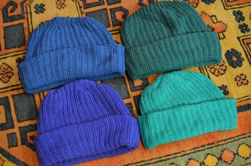 画像1: 【columbia knit/コロンビアニット】 COTTON KNIT CAP /コットンニットキャップ (1)