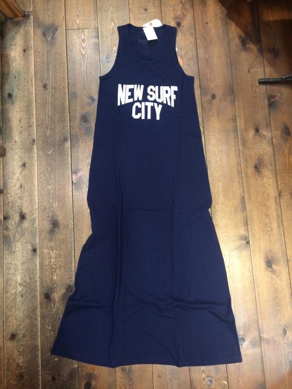 画像1: 50%OFF 【JACKSON MATISSE/ジャクソンマティス × Sandie.】 NICE NEW SURF CITY Tank Dress (1)