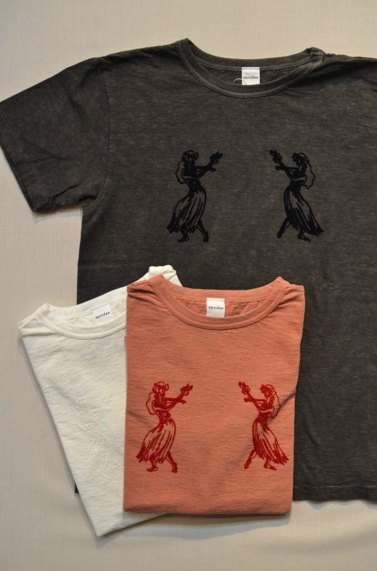 画像1: 40%OFF【apoidea/アポイデア】by Niche.  Hula T-shirts (1)