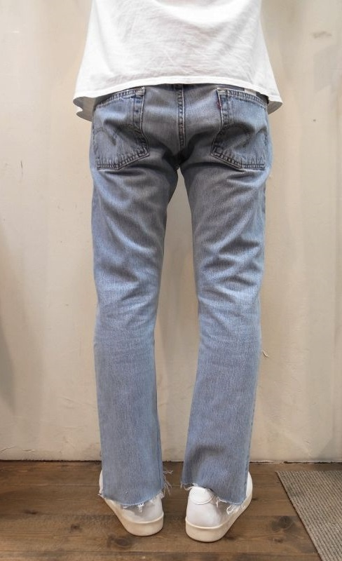 SLIT JEANS BLUE S 11 【OLD PARK】