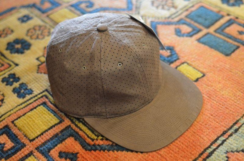 画像1: 【POTEN/ポテン】 DOUBLE SUEDE BASEBALL CAP (1)