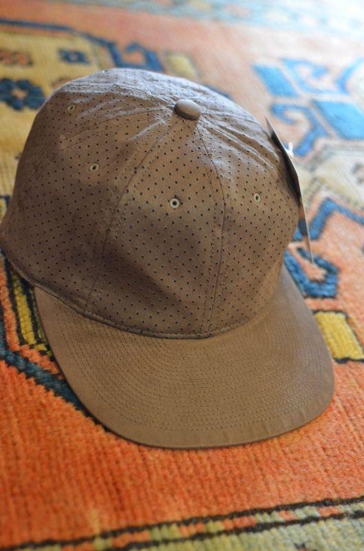 3e85dc24cab24 POTEN ポテン DOUBLE SUEDE BASEBALL CAP ベースボールキャップ