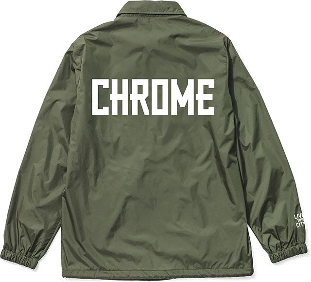 画像1: 30%OFF【CHROME/クローム】 COACH JKT コーチジャケット (1)
