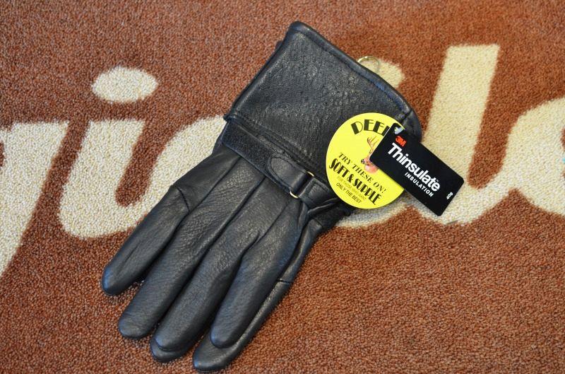画像1: 【NAPA GLOVE/ナパグローブ】 Deerskin Gauntlet Glove ガントレットグローブ (1)