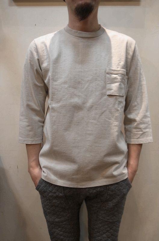 画像1: 【JACKMAN/ジャックマン】 JM5807 Dotsume 1/2 Sleeved Tee (1)