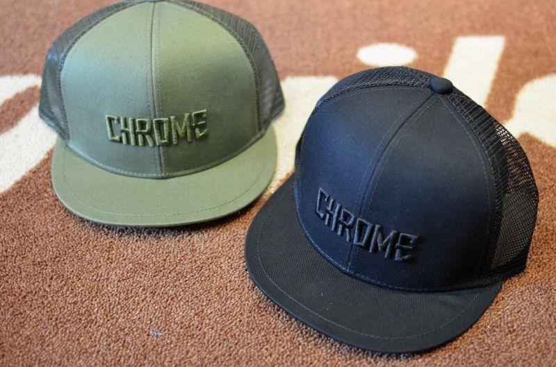 画像1: 【CHROME/クローム】 SHORT VISOR MESH CAP ショートバイザーメッシュキャップ (1)