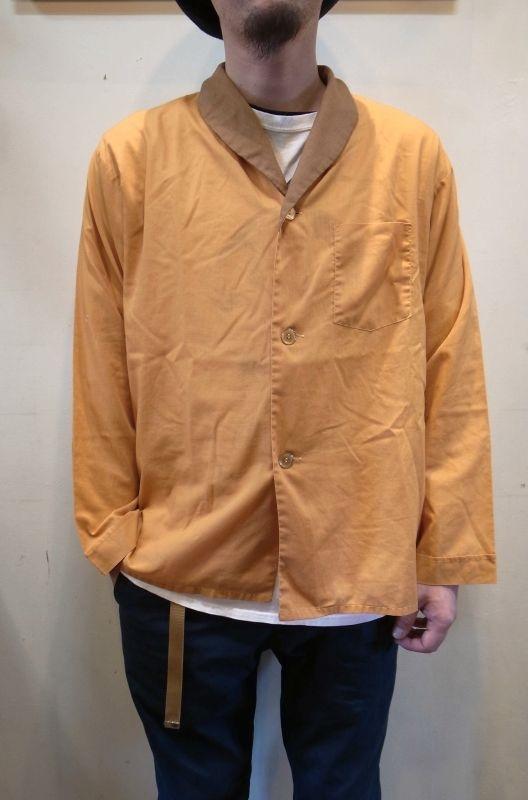 画像1: USED パジャマシャツ (1)