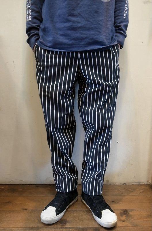 画像1: 【CHEF DESIGNS by RED KAP】  BAGGY CHEF PANTS シェフパンツ (1)