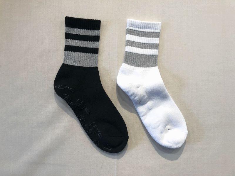 画像1: 【GanaG Socks/ガナジーソックス】 Reflect Socks (1)
