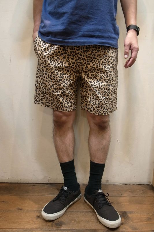 """画像1: 【Cookman】 Chef Short Pants """"LEOPARD"""" (1)"""