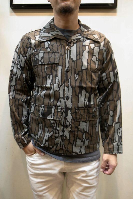 画像1: USED カモフラ ジャケット (1)
