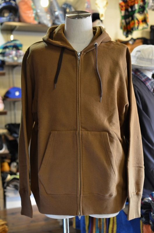 画像1: 30%OFF 【BETTER/ベター】 HEAVY WEIGHT FLEECE ZIP HOODY (1)