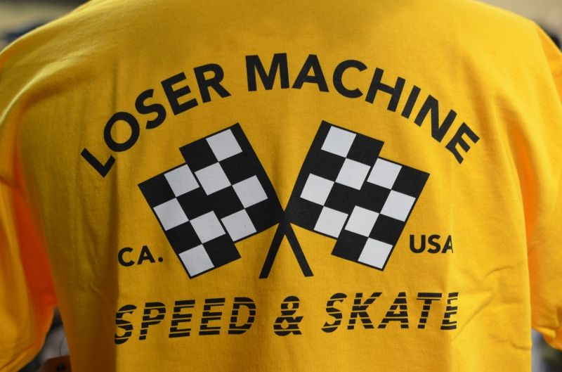 画像1: 【LOSER MACHINE/ルーザーマシーン】 Daytona Stock Tee (1)