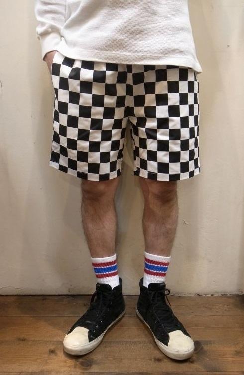画像1: 【Cookman】 Chef Short Pants シェフショートパンツ 「CHECKER」 (1)