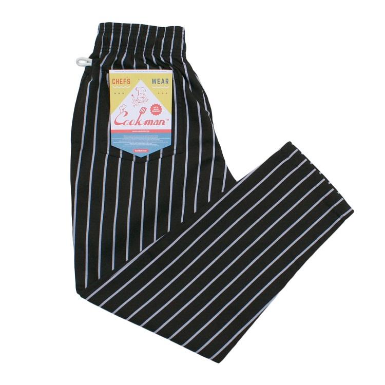 画像1: 【Cookman】 Chef Pants シェフパンツ 「STRIPE」 (1)
