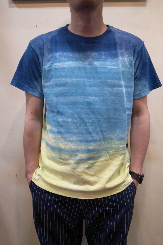 画像1: 【Good On/グッドオン】 5.5ozコットン HORIZON DYE S/S TEE ホライズンダイショートスリーブTシャツ (1)