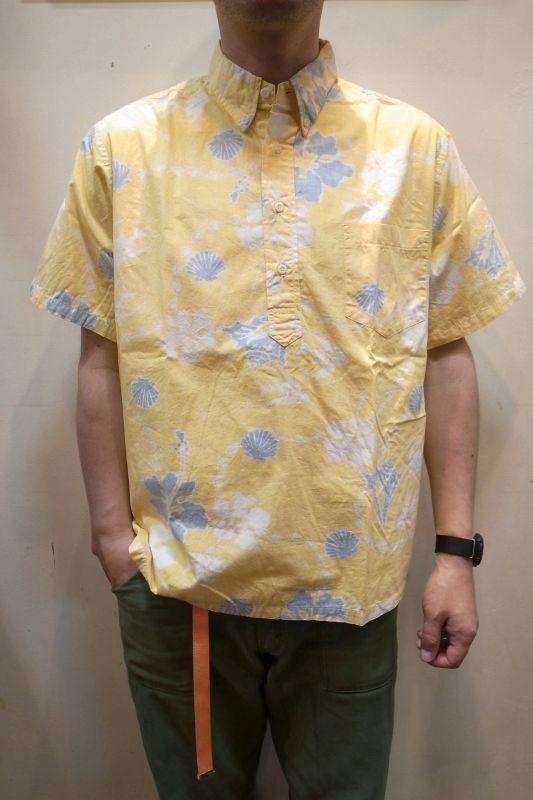 画像1: USED プルオーバー アロハシャツ (1)