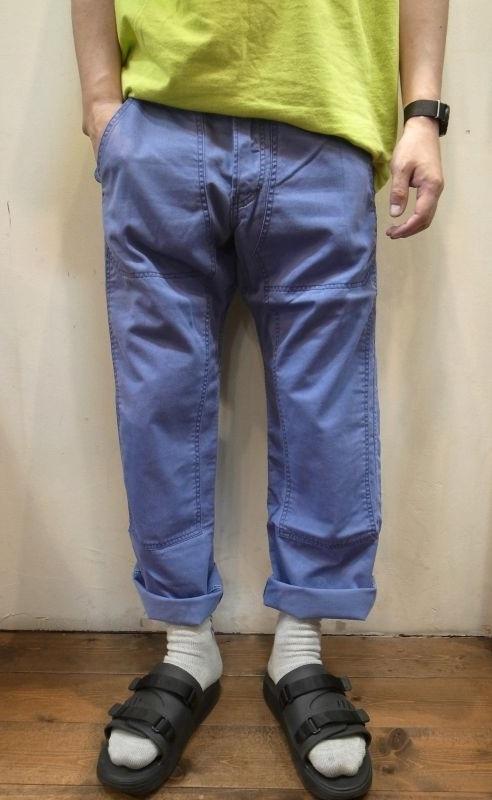 画像1: 【DE-NA-LI/デナリ】 Chino Double Knee Pants ダブルニーワークパンツ (1)