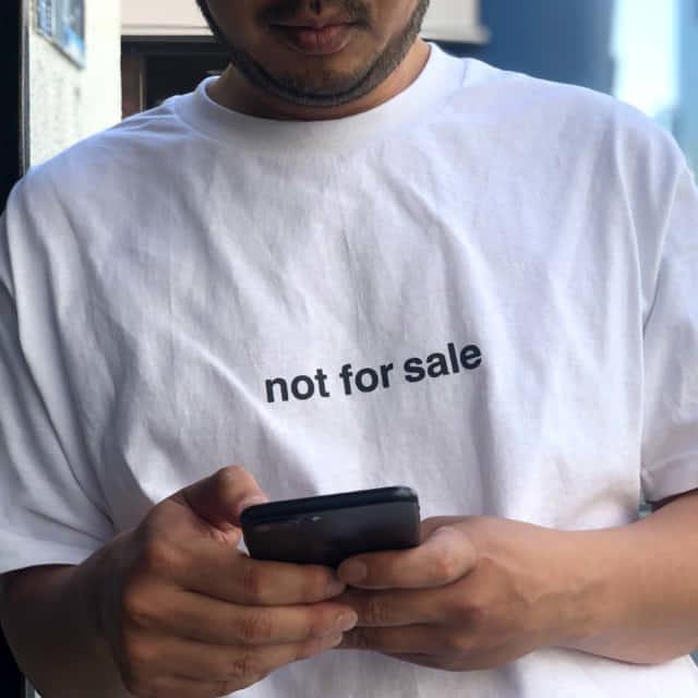"""画像1: 【LIXTICK/リックスティック】 """"not for sale"""" TEE (1)"""
