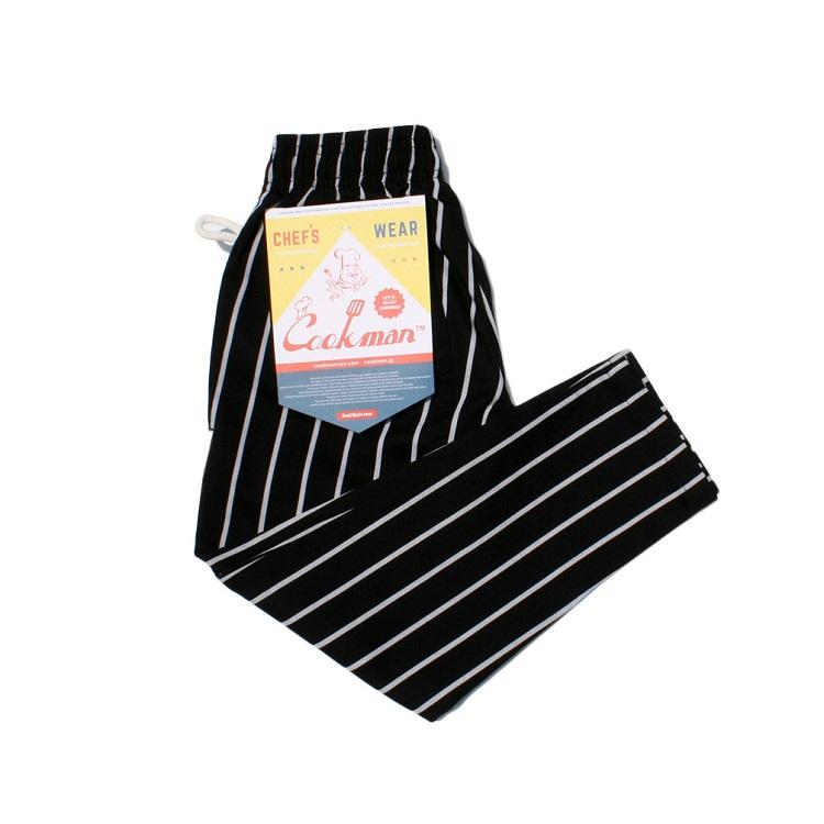 画像1: 【Cookman】 Chef Pants Kids 「STRIPE」 (1)