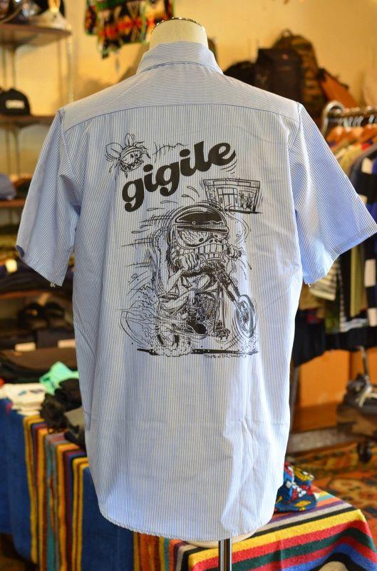 画像1: オリジナル半袖ワークシャツ (1)