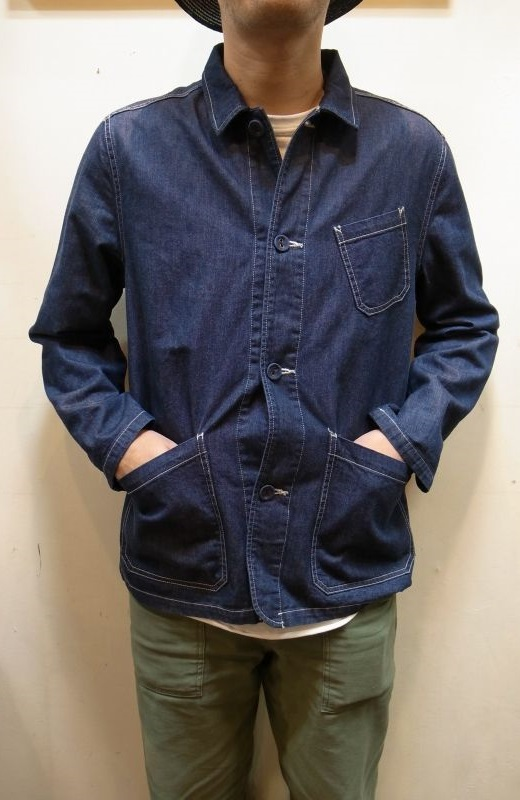 画像1: 【USEFULL/ユースフル】 PASEO JACKET DENIM (1)