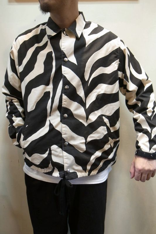 画像1: 【OLD PARK/オールドパーク】  FRAT SHEET COACH JACKET (1)