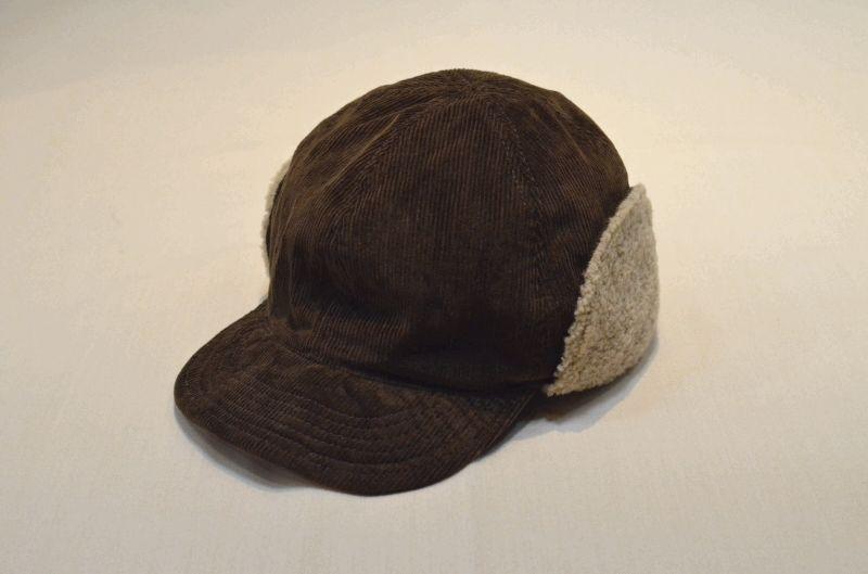 画像1: 【HIGHER/ハイアー】 CORDUROY  HUNTER CAP (1)