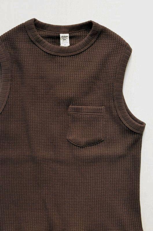 画像1: 【JACKMAN/ジャックマン】 JM7906 Waffle Vest (1)