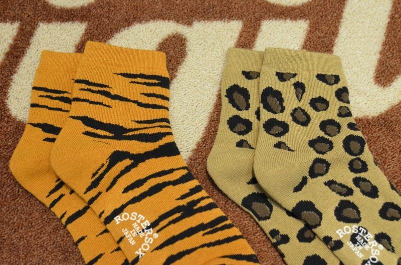 画像1: 【ROSTER SOX/ロスターソックス】 ANIMAL SHORT SOCKS (1)