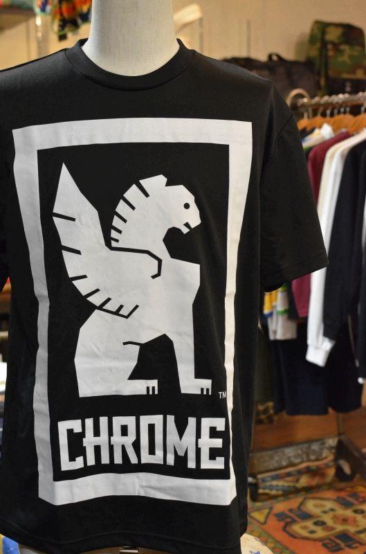 画像1: 【CHROME/クローム】 TEC BIG LOCKUP TEE (1)