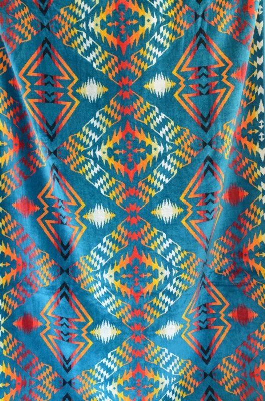 画像1: 【PENDLETON/ペンドルトン】 オーバーサイズジャガードタオル(102×180cm) (1)
