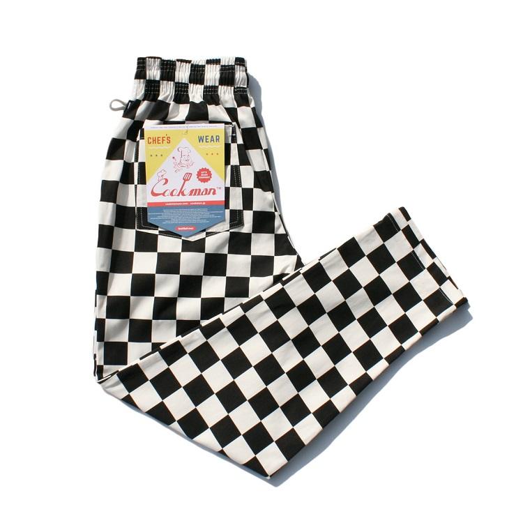 画像1: 【Cookman】 Chef Pants シェフパンツ (1)