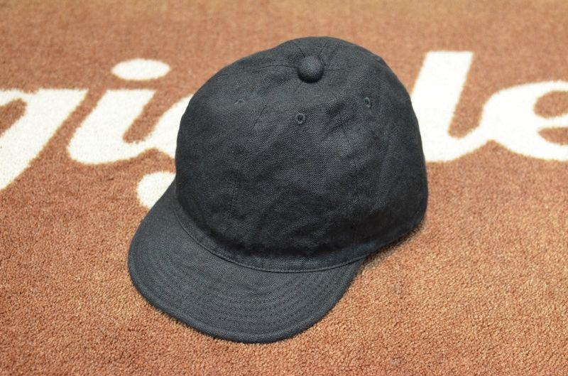 画像1: 【HIGHER/ハイアー】 キャンバスリネン CAP (1)