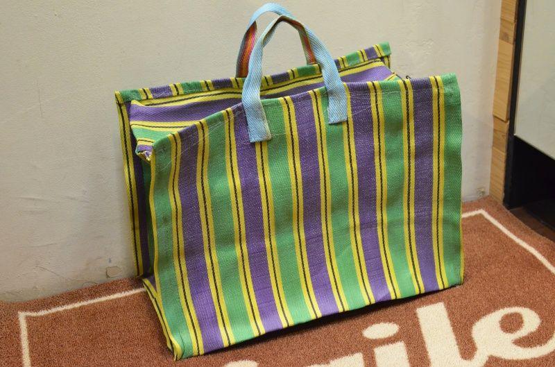 画像1: INDIA MARKET BAG インディアマーケットバッグ (1)