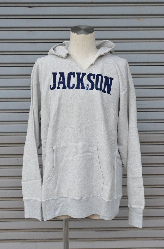 画像1: 【JACKSON MATISSE/ジャクソンマティス】 REVERSE WEAVE JACKSON SWEAT PARKA リバースウィーブパーカー (1)