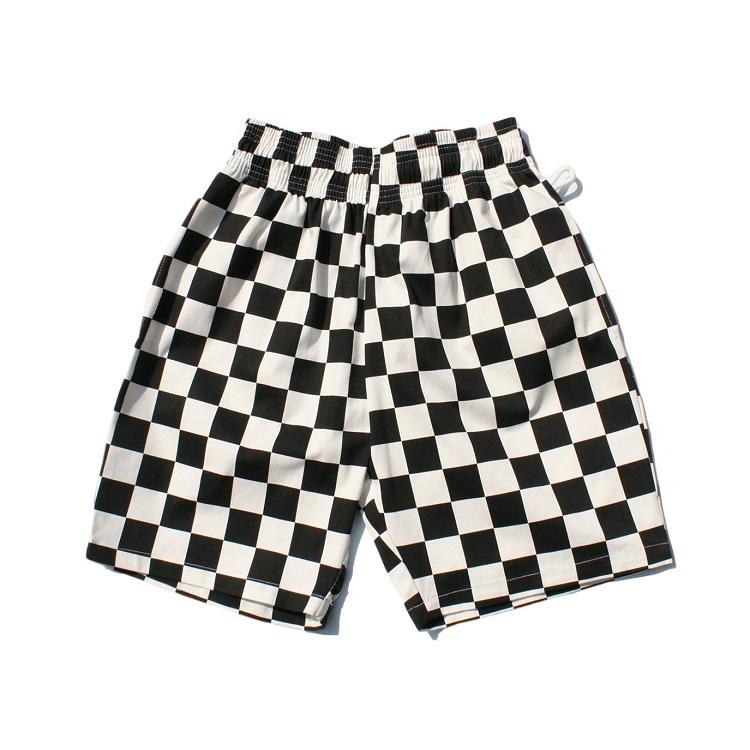 画像1: 【Cookman】 Chef Short Pants 「Checker Black」 (1)