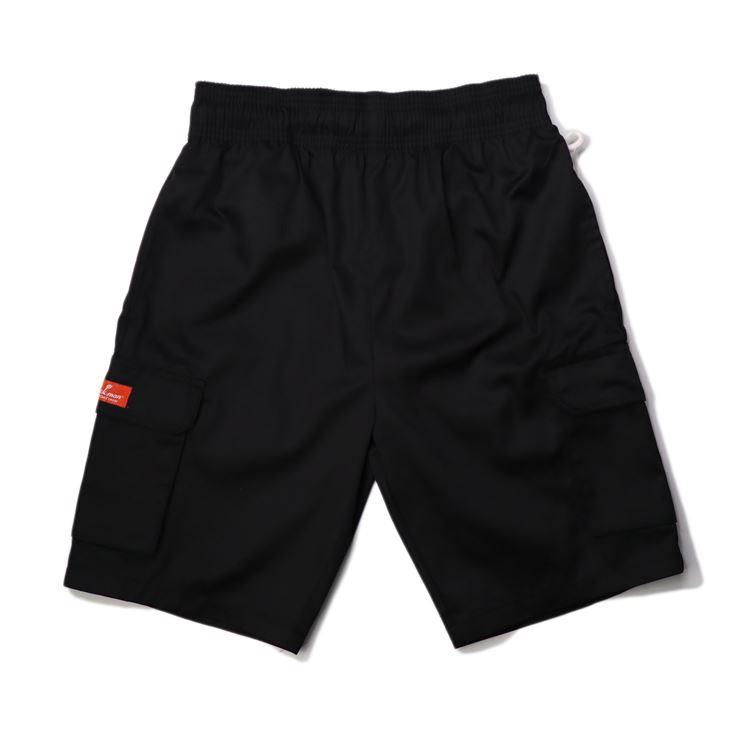 画像1: 【Cookman】 Chef Short Pants CARGO BLACK (1)