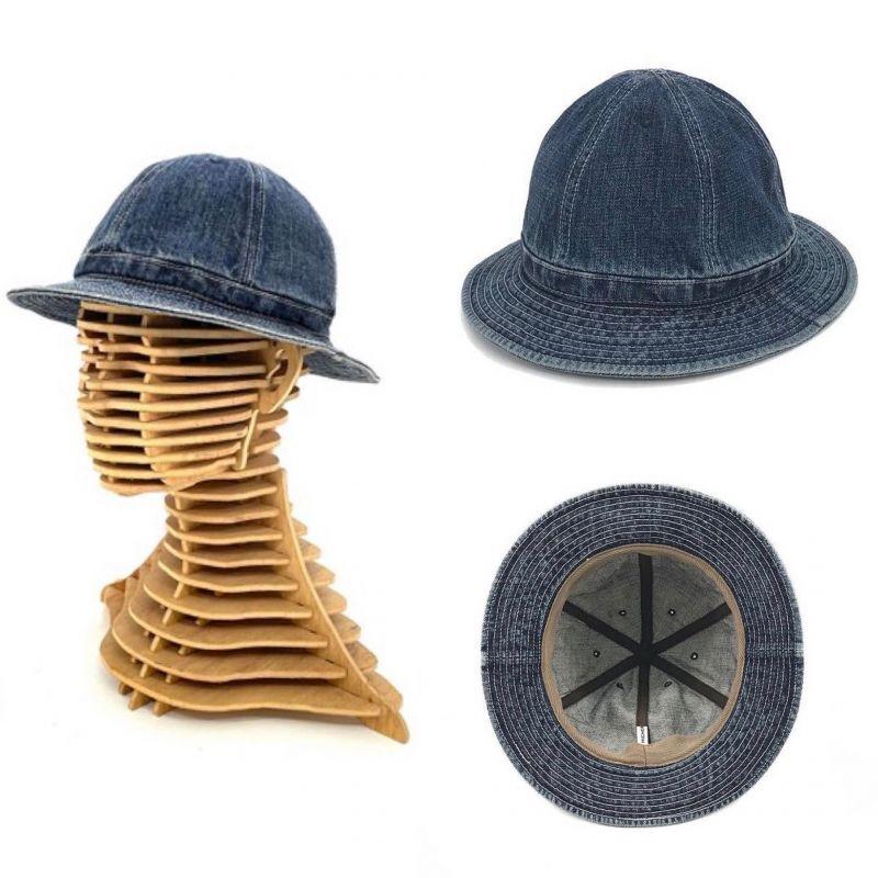 画像1: 【HIGHER/ハイヤー】 SELVEDGE DENIM HAT (1)